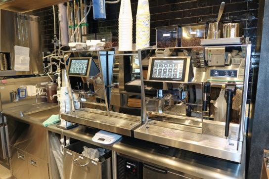 自動コーヒーマシン