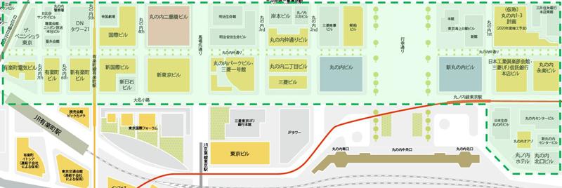 20181108mitu1 - 三菱地所/丸の内のキャッシュレス強化、二重橋スクエア25店に導入
