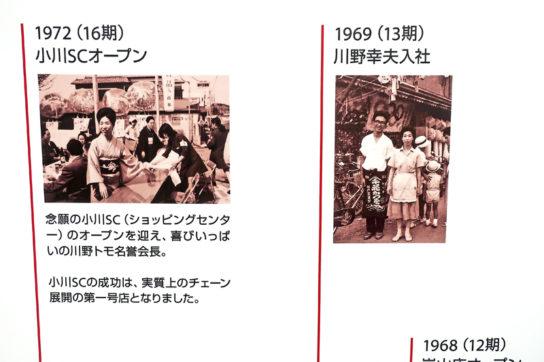 1969年川野幸夫氏入社