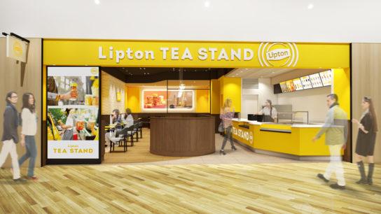 北海道・札幌にLipton Tea Stand