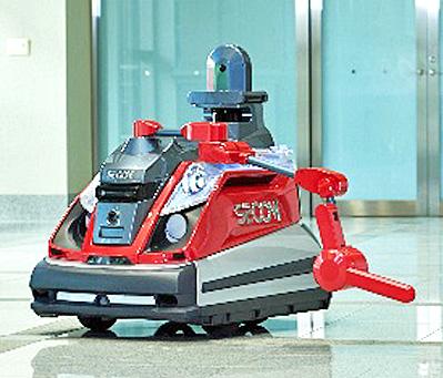 巡回監視ロボット