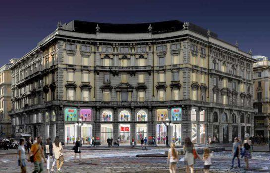 ユニクロ コルドゥージオ広場店