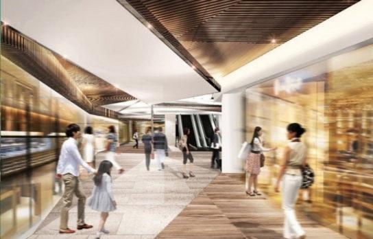 八重洲二丁目北地区第一種市街地再開発事業・商業施設