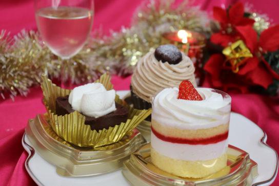 こだわりケーキ3種