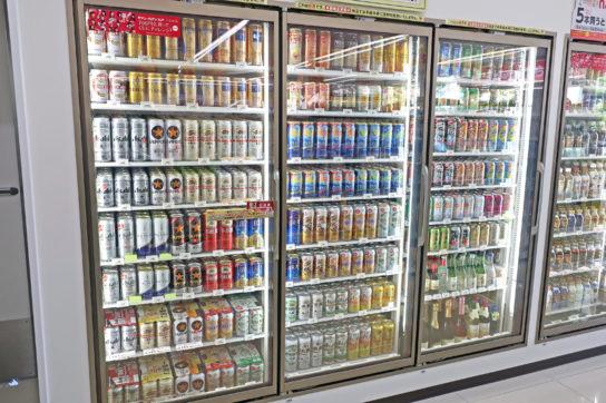 セブン-イレブンのビール・缶チューハイ売場