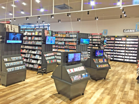 DVD・CD販売コーナー