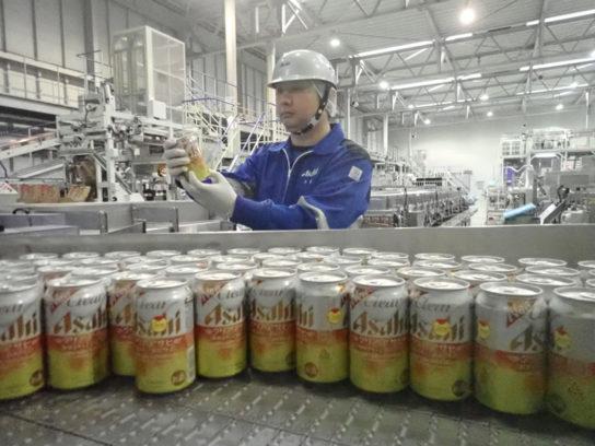 国産最軽量級の350mlアルミ缶共同開発