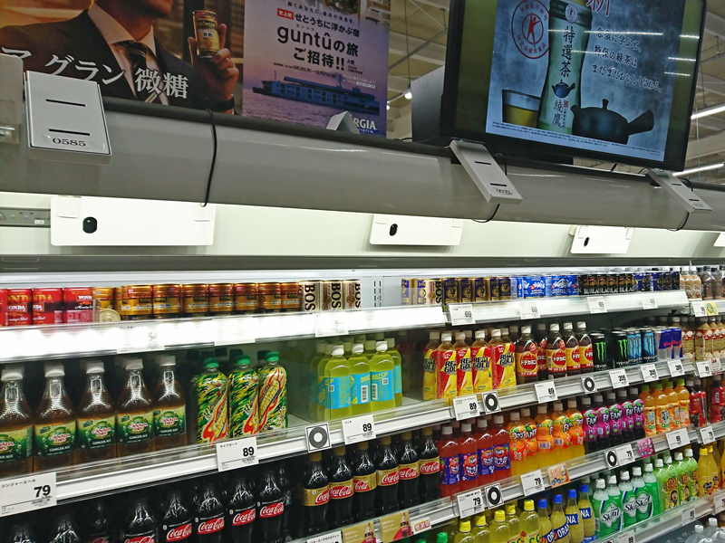 冷凍冷蔵ショーケースにリテールAIソリューション実装