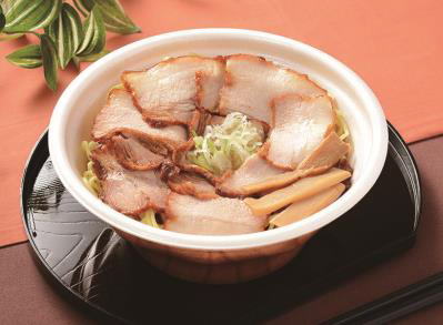 20181214lawson2 - ローソン/牛肉・豚肉・鶏肉入りレンジ麺「肉麺!シリーズ」3品
