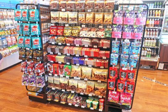菓子は小容量菓子を中心に展開