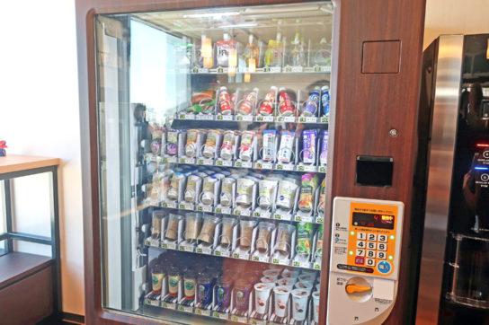 カフェラテや乳酸菌飲料は自販機で販売