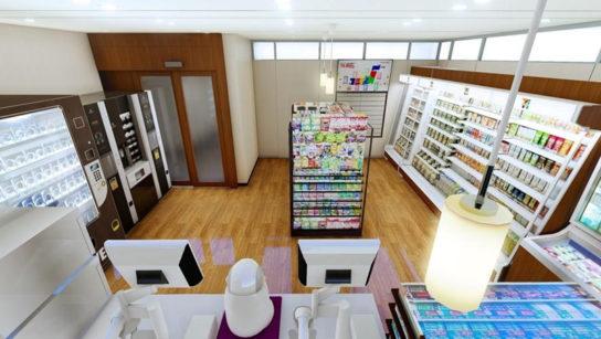 NECと共同で初の「省人型店舗」