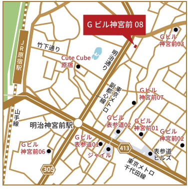 20181220jingu2 - 日本リテールファンド/「Gビル神宮前08」24.9億円で取得