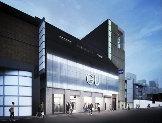 201901117gu 544x414 - ジーユー/4店舗目となる旗艦店「渋谷店」3月15日オープン