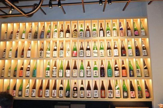 日本酒30~40種そろう