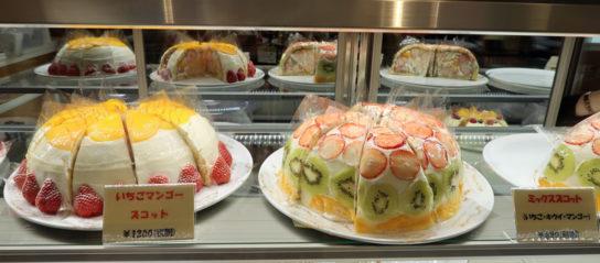 ドーム型ケーキ「ズコット」