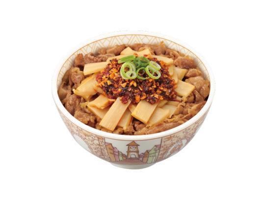 食べラー・メンマ牛丼