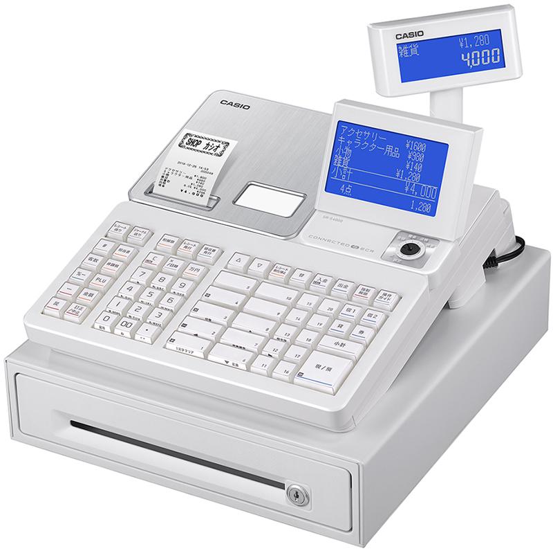 20190124casio1 - カシオ/スマホと連動し設定や売上確認できる電子レジスター
