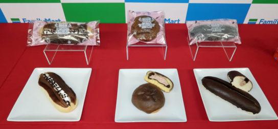 菓子パン3種