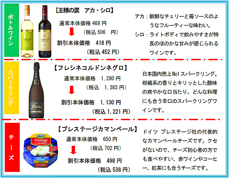 20190125izumi - イズミ/欧州EPA発効でワイン最大100品目を値下げ