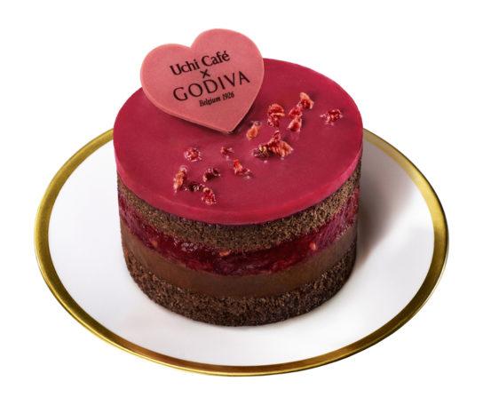 ショコラケーキ ラズベリー