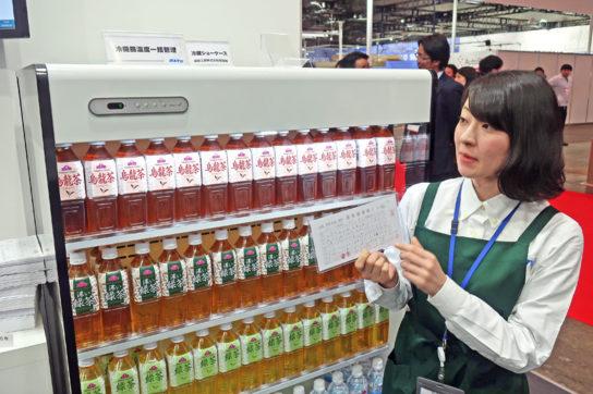 冷蔵ケースの品温管理