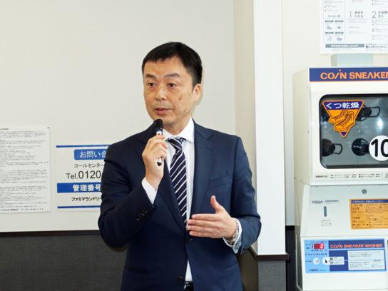 朝雄健一郎・新規事業開発本部付部長