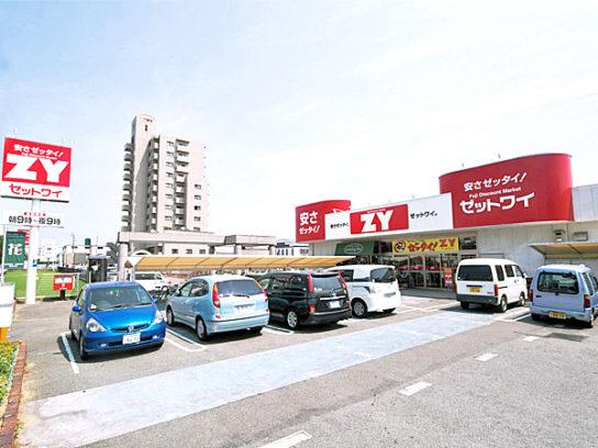 改装前のフジ・ZY高岡店
