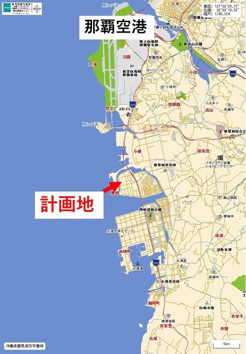 計画地地図