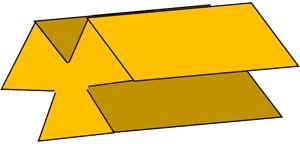 商品に使用しているパスタ麺の形状(イメージ)