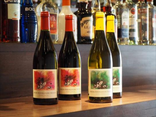 那須慶子デザインのワイン
