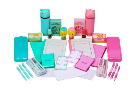 ピンクとミントのロフト限定カラー