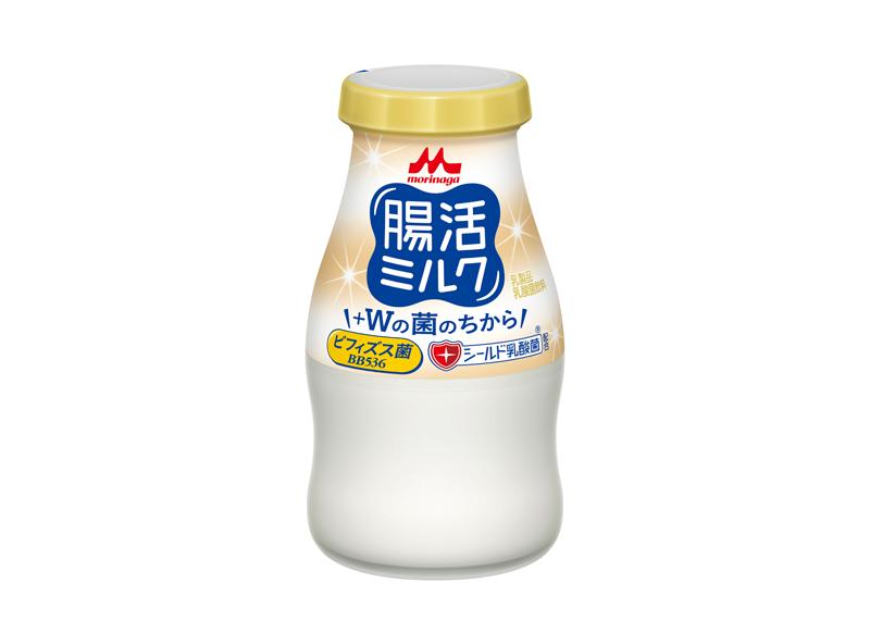 森永乳業/ビフィズス菌、シールド乳酸菌入り「腸活ミルク」