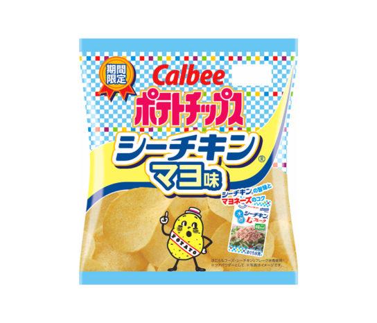 ポテトチップス シーチキンマヨ味