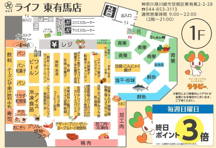 ライフ/川崎の「東有馬店」刷新、惣菜・簡便商品拡大 | 流通ニュース
