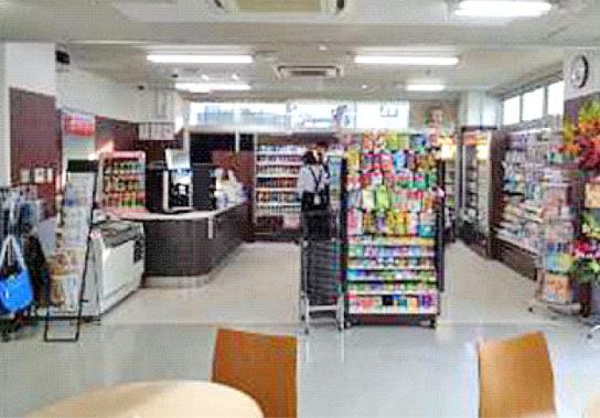 ポプラ太田川病院店の店内