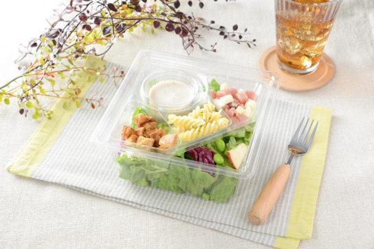 生ハムとチーズの濃厚サラダ