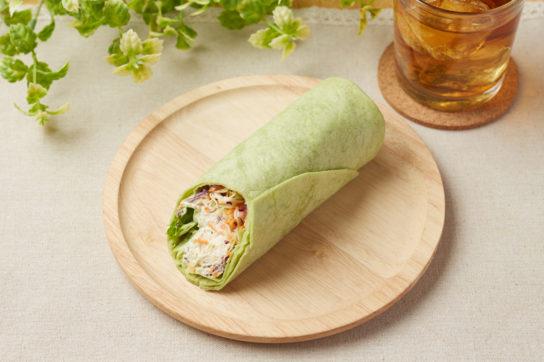 スーパー大麦とサラダチキン