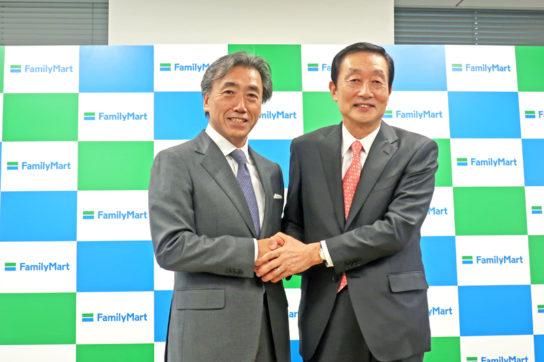 澤田副社長(左)と高柳社長(右)