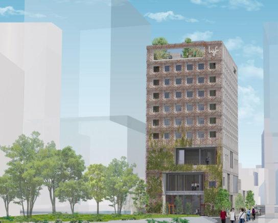 福岡にホテル・商業複合施設