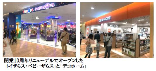 「トレッサ横浜」リニューアルで好調