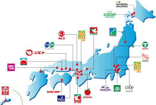 ニチリウの加盟企業
