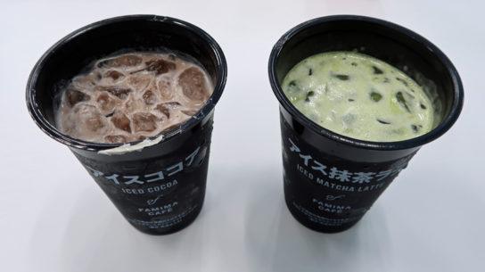 アイス抹茶ラテ、アイスココア