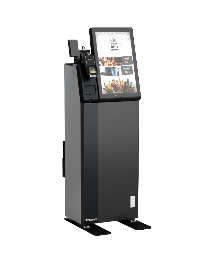 20190513del1 - 寺岡精工/軽減税率対応の飲食店用タッチパネル式券売機