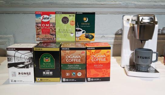 6ブランドのコーヒー