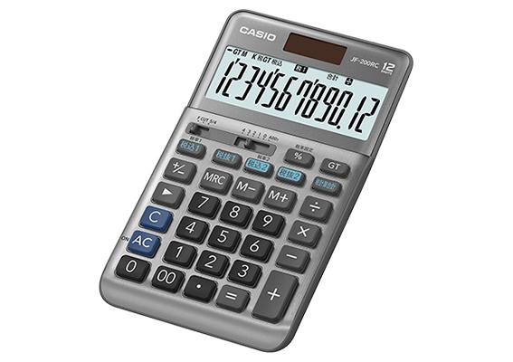 20190524casio - カシオ/軽減税率に対応した「電卓」税率が混在する計算も一度に