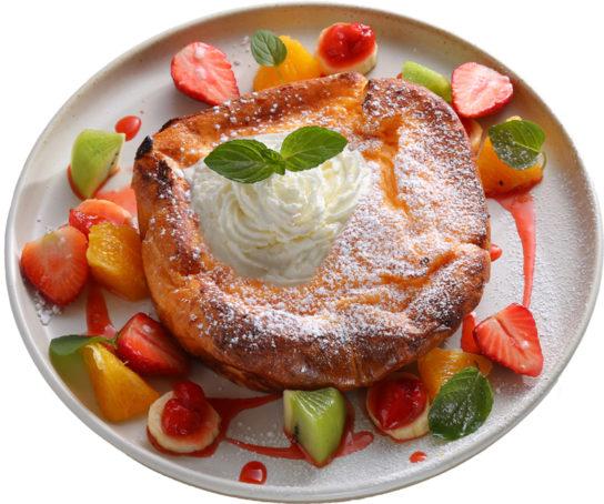 フルーツたっぷりフレンチトースト