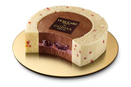 チェリーショコラロールケーキ