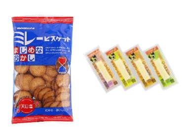 四国のお菓子メーカーの商品がランクイン