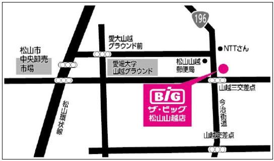 ザ・ビッグ松山山越店